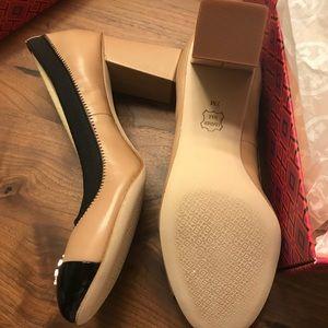Tory Burch Shoes - Tory Burch beige Jolie 75MM pump classic